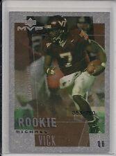 2002 Upper Deck MVP FX #301 Michael Vick #d 353/750 Falcons Rookie RC VT