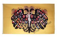 Holy Roman Empire Double-headed Eagle FLAG historische Banner 90x150cm - 5ftx3ft