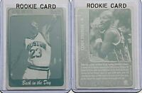 LOT 2 CLYDE DREXLER ROOKIES 1997 SCORE BOARD PRINTING PLATES CARD 97 HOUSTON 1/1