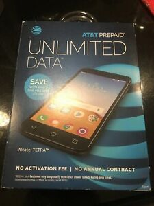 "Unlocked Alcatel TETRA Smartphone AT&T  5"" Display 16GB OT-5041C FREE Shipping"
