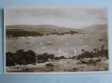 R/P POSTCARD - ROTHESAY BAY - ISLE OF BUTE SCOTLAND - c.1950