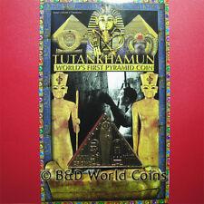2008 Isle Of Man Crown Tutankhamun Pharaoh King Tut Sarcophagus Cartouche Scarab