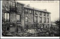~ 1910 CPA PARIS Rue Cortot Vieux Montmartre Gebäude AK