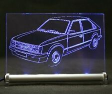 Opel Kadett  D  3-t  als  AutoGravur auf LED-Schild