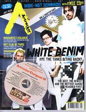 WHITE DENIMArtrockerwith CDNo.79July2008