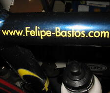 Custom Website Web Address Decals Road Bike 3/4""