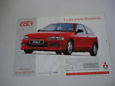 advertising Pubblicità 1997 MITSUBISHI COLT