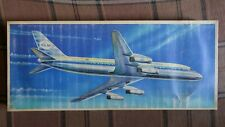 DC-8  1/100  VEB Plasticart  kit  release 1972 year