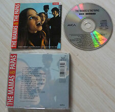 CD ALBUM THE MAMAS & AND THE PAPAS 16 TITRES 1991 COMPILATION BEST OF