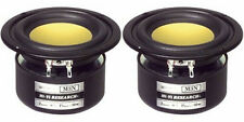 """NEW (2) 3"""" Woofer Speakers.MidRange Shielded Driver.8 ohm.Three inch.Stereo Pair"""