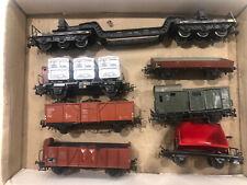 MARKLIN HO 7x Goods Wagons