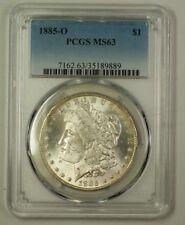 1885-O US Morgan Silver Dollar Coin $1 PCGS MS-63 (B) (18)