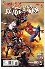 1)AMAZING SPIDER-MAN v3 #13(3/15)SPIDER-GWEN/SILK/MILES MORALES(CGC IT)9.8(VERSE