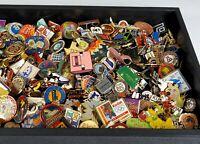 200 Huge Lot Vintage to Now Advertising Pinbacks Pins Mixed Antique Lapel Enamel