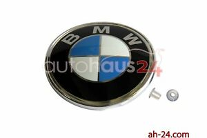 NEW ORIGINAL BMW EMBLEM LOGO BADGE GENUINE OEM TRUNK LID E30 E28 51141872969