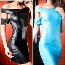 Party Patternless Regular Size Dresses for Women