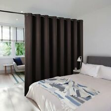 Room Dividers Curtain Screen Partitions - NICETOWN Blackout Wide Width Blackout