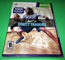 Nike+ Kinect Training Microsoft Xbox 360 *Factory Sealed! *Free Shipping!