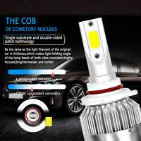 2PCS 9005 HB3 H10  36000LM 300W LED Car Headlight Kit Beam Light Bulbs 6000K