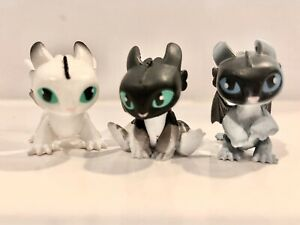 How To Train Your Dragon Hidden World - Mystery Dragon Night Light Baby Set Of 3