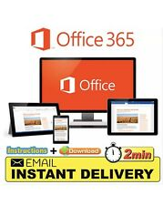 Microsoft Office 365/2016 5 Users Windows/Mac✅ Genuine Copy✅ Instant Delivery✅ 2