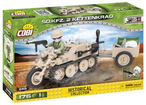 Cobi 2401 - Sd.Kfz. 2 Kettenkrad HK-101 (176pcs) - Building Blocks - (DAK)