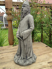 NEW LOW PRICE!! Merlin Wizard Statue Garden Ornament Latex And Fibreglass Mould