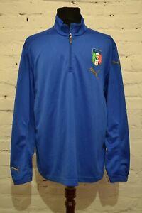 VINTAGE ITALY 2008/2009 TRAINING FOOTBALL JACKET SOCCER CALCIO PUMA MENS XL