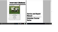 Bolens ST Troy Built Subruban tractor service repair manual library