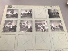 JEAN CLAUDE PASCAL : PLANCHE CONTACT ORIGINALE DE 1962