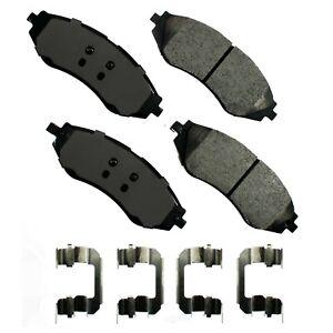 Disc Brake Pad Set-ProACT Ultra Premium Ceramic Pads Front Akebono ACT1035