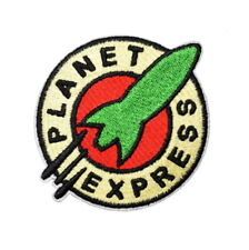 1 Écusson Brodé Thermocollant NEUF ( Patch ) - Planet Express Futurama