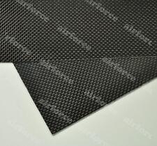 1PC 200x250x0.3mm 3K Plain Weave carbon fiber plate Glossy Surface RC Plane Part