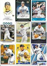 EVAN LONGORIA NICE (9) DIFFERENT ROOKIE CARDS SEE LIST & SCAN TAMPA BAY