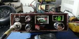 RADIO CB CTE 747 INTERNATIONAL 40 CANALI AM COMPLETA MICRO STAFFA CAVO TESTATA