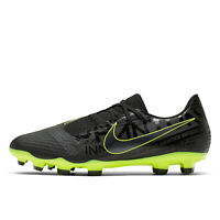 NIKE PHANTOM VENOM ACADEMY FG Mens Soccer Cleats - Black / Volt - Pick Size