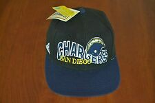 Vintage early 1990's, San Diego Chargers ProLine Sidlelines Snapback Hat, NWT