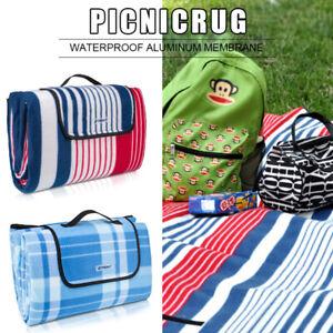 Picknickdecke Campingdecke Reisedecke Stranddecke Picknick Matte Isoliert 200cm