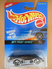 hot wheels sol-aire cx4 spy print series 3 of 4 #555