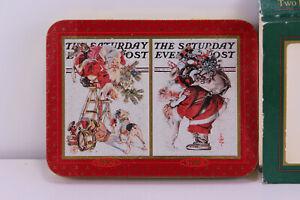 1997 Red Saturday Evening Post Coca-Cola Nostalgia Play Card Decks Sealed W/ Tin
