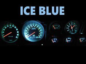 Gauge Cluster LED Dash Kit Ice Blue For 72-79 Ford Torino Ranchero LTD II Cougar