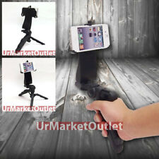 Universal Portable Handheld Stand Tripod Phone Adapter Fit Apple iPhone 4/4S