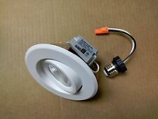 """5 PK 4"""" LED Retrofit Dimmable Recessed Ceiling Light Adjustable Gimbal Adapter"""