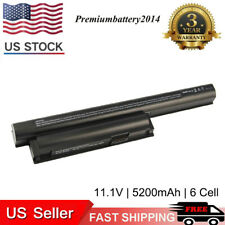6-Cell Laptop Battery for Sony Vaio PCG-61A14L VPCCA25FX/B VPCCB27FX/W VPCEH16EC