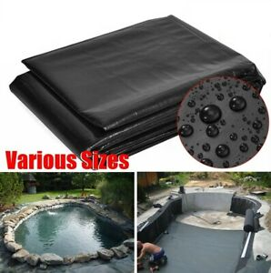 Strong Fish Pond preformed Liners Garden Pool Membrane Landscaping Reinforced