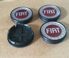 FIAT DOBLO GRANDE PUNTO PANDA STILO WHEEL CENTER CAPS 55mm CENTRE X 4pcs