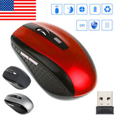 2.4G Portable Wireless Mouse Cordless Optical Scroll Mini Mouse for PC Laptop