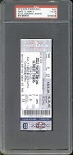 2012 World Series Game 3 Giants vs Tigers FULL TICKET PSA VG-EX 4 Oct. 27th