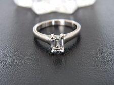 18CT WHITE GOLD DIAMOND ENGAGEMENT STYLE RING! 0.63CT DIAMOND!
