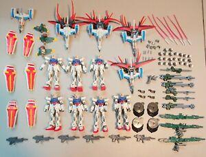 Gundam Bandai Action Figure Huge Lot Aile Strike Gundam MSIA Seed